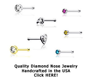 Diamond Nose Studs