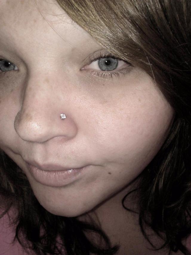 Beautified poke nose piercing story